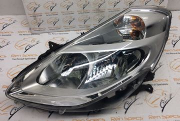 NEW RENAULT CLIO 2010 NEARSIDE HALOGEN HEADLIGHT